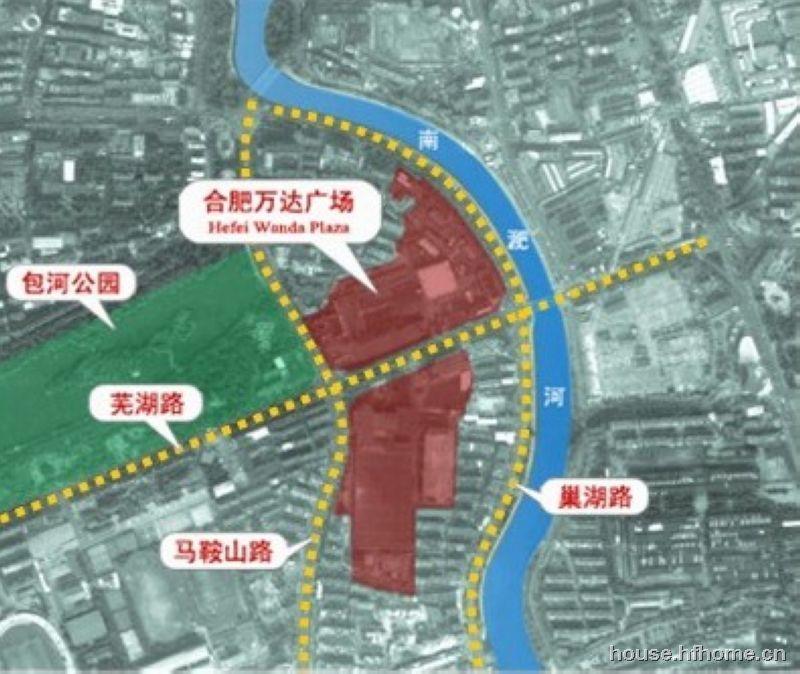 合肥万达广场位置图