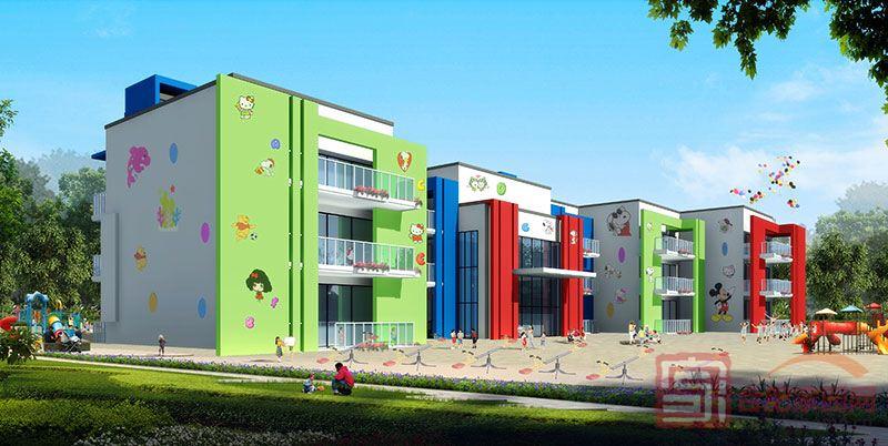 一期幼儿园透视